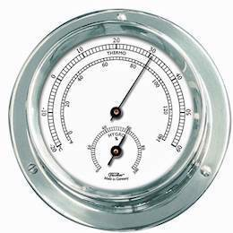 1506TH-47 Nautic <br> Termo- og hygrometer - 11 cm