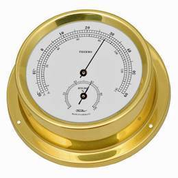 1508TH-45 Nautic <br> Termo- og hygrometer  - 12,5 cm